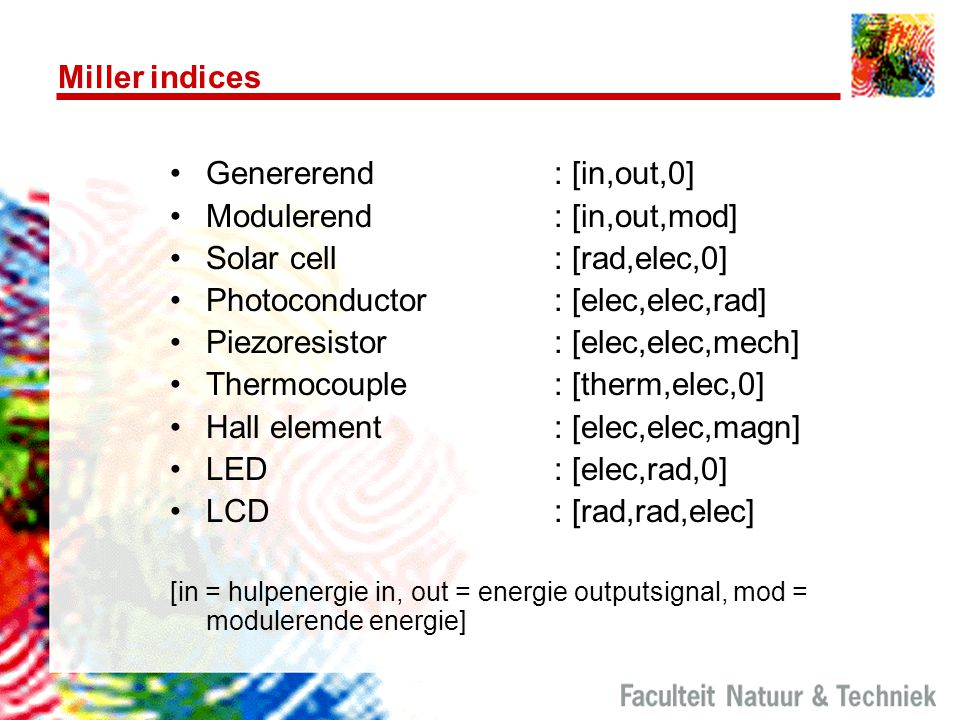 Modulerend : [in,out,mod] Solar cell : [rad,elec,0]